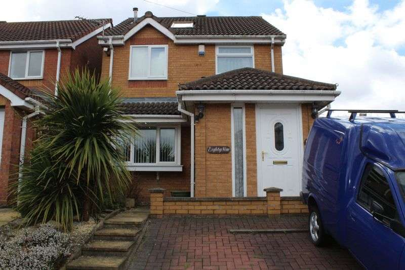 4 Bedrooms Detached House for sale in Brookfield Way, Tipton, West Midlands