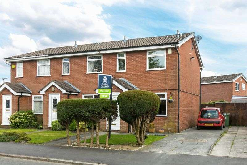 2 Bedrooms Terraced House for sale in James Square, Standish, WN6 0JB