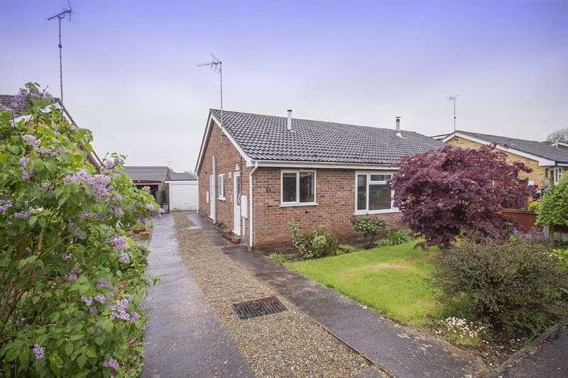 2 Bedrooms Semi Detached Bungalow for sale in OLTON ROAD, MICKLEOVER