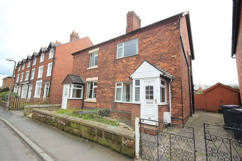 2 Bedrooms Terraced House for sale in Aston Street, Wem