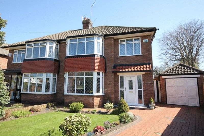 3 Bedrooms Semi Detached House for sale in Booker Avenue, Calderstones, Liverpool, L18