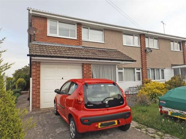 4 Bedrooms Semi Detached House for sale in Pine Grove, Mynydd Isa, Mold, Flintshire