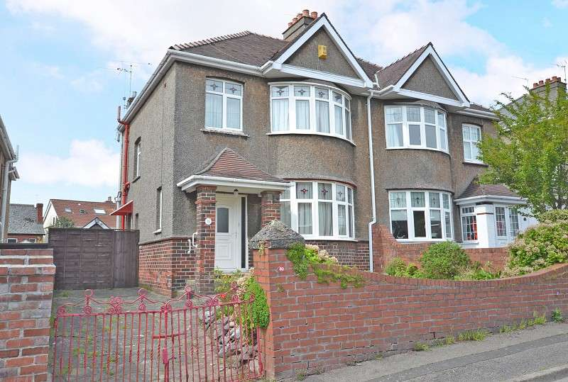 3 Bedrooms Semi Detached House for sale in Carlton Road, Newport, Gwent. NP19 7LA