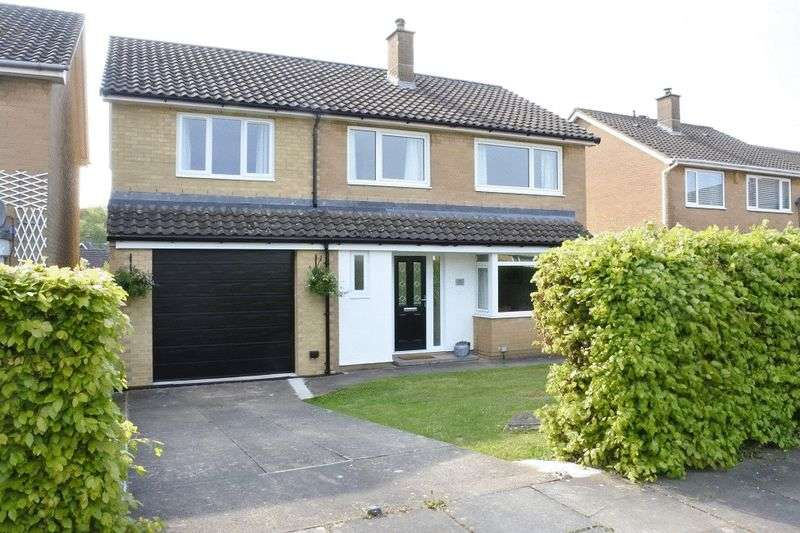 4 Bedrooms Detached House for sale in Sark Close, Lowry Hill, Carlisle