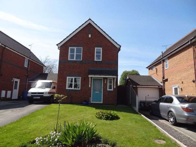 3 Bedrooms Detached House for sale in Blackbrook Drive, Wrexham