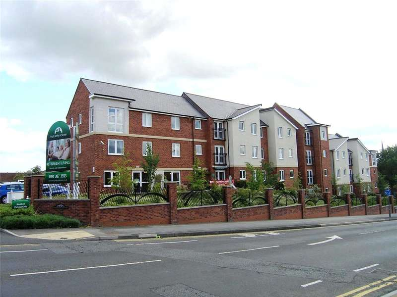 1 Bedroom Retirement Property for sale in Cestrian Court, Chester le Street, County Durham, DH3