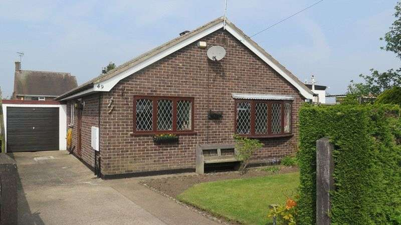 2 Bedrooms Detached Bungalow for sale in Leyton Avenue, Skegby