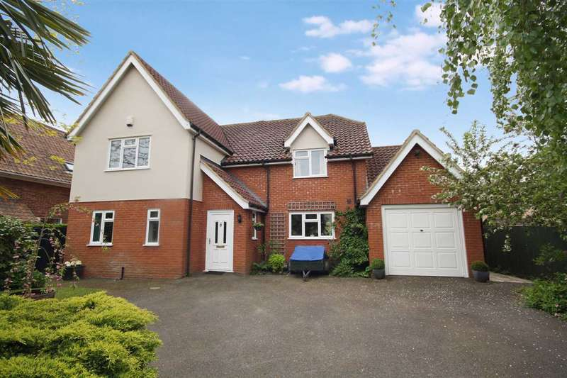 4 Bedrooms Detached House for sale in Silverleigh, Main Road, Lower Somersham