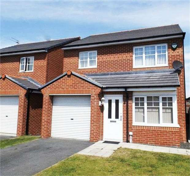 3 Bedrooms Detached House for sale in Foxcover, Linton Colliery, Morpeth, Northumberland