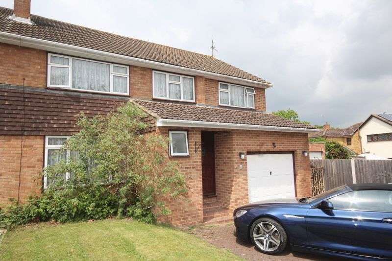 4 Bedrooms Semi Detached House for sale in Silverhurst Drive, Tonbridge