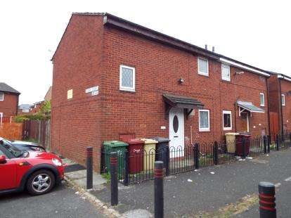 2 Bedrooms Semi Detached House for sale in Rigby Court, Bolton, Greater Manchester, BL3