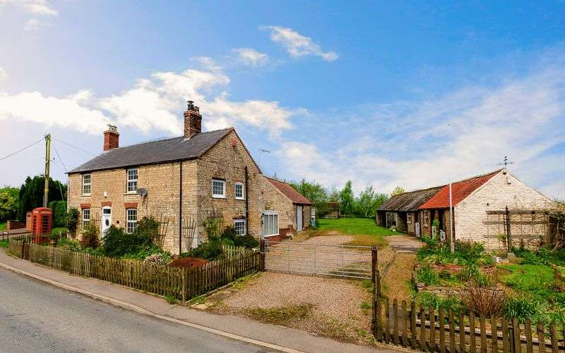 3 Bedrooms Detached House for sale in Pillar Box Farm, Main Street, Kirkby Green, Lincoln