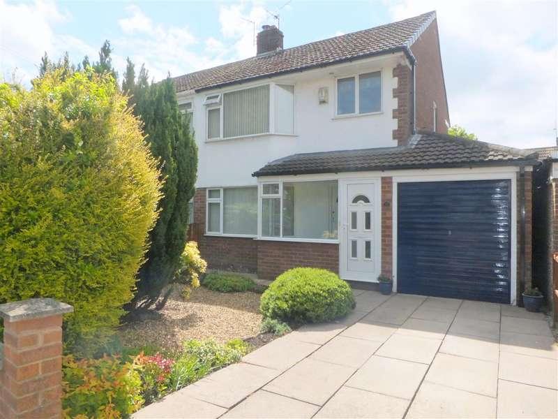3 Bedrooms Semi Detached House for sale in Caxton Road, Rainhill, Prescot