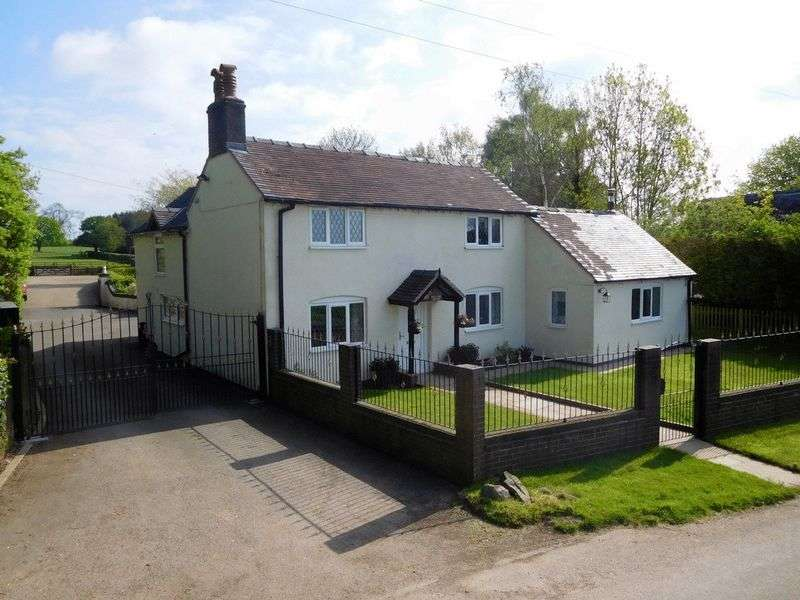 4 Bedrooms Detached House for sale in Aspley Lane, Chatcull, Stafford