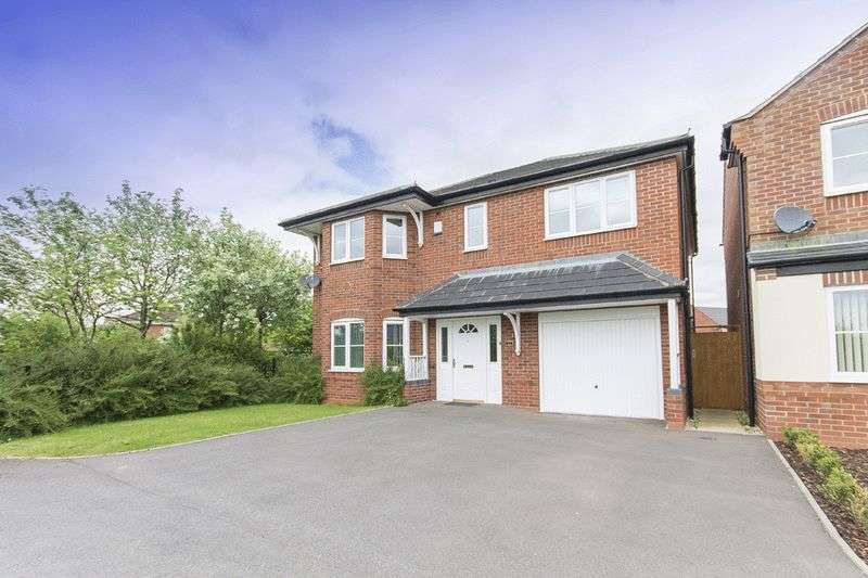 4 Bedrooms Detached House for sale in ORWELL ROAD, HILTON