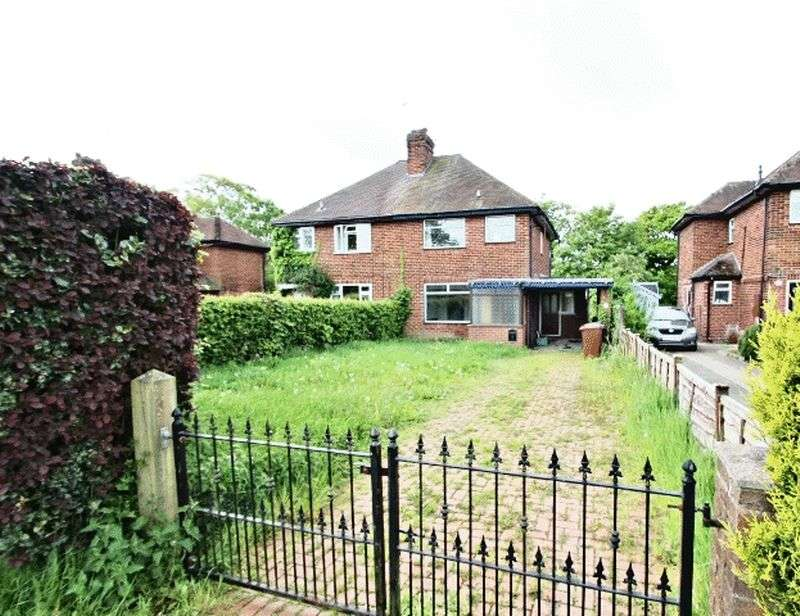 3 Bedrooms Semi Detached House for sale in Stonechair Lane, Scholar Green