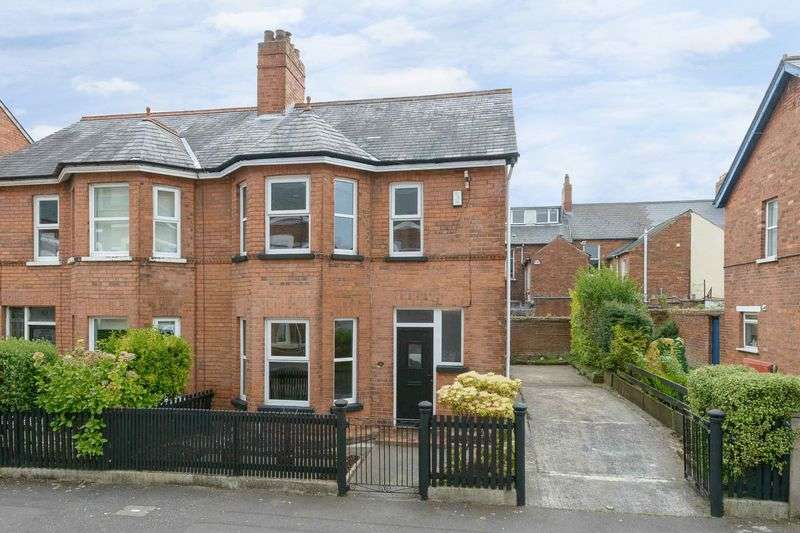3 Bedrooms Semi Detached House for sale in 16 Haypark Avenue, Belfast, BT7 3FD