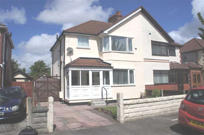 3 Bedrooms Property for sale in Woodend Avenue, Maghull, Merseyside