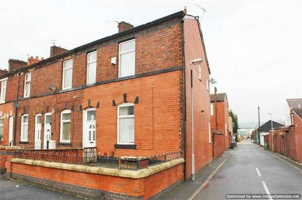 3 Bedrooms End Of Terrace House for sale in South Cross Street, Bury, Lancashire