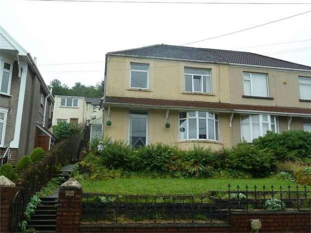 3 Bedrooms Semi Detached House for sale in Neath Road, Maesteg, Maesteg, Mid Glamorgan