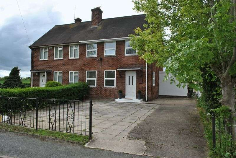 3 Bedrooms Semi Detached House for sale in Hugmore Lane, Wrexham