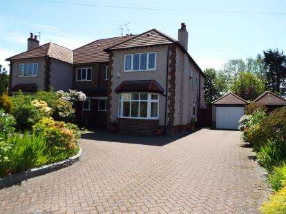 4 Bedrooms Semi Detached House for sale in Piercefield Road, Formby, Liverpool, Merseyside, L37