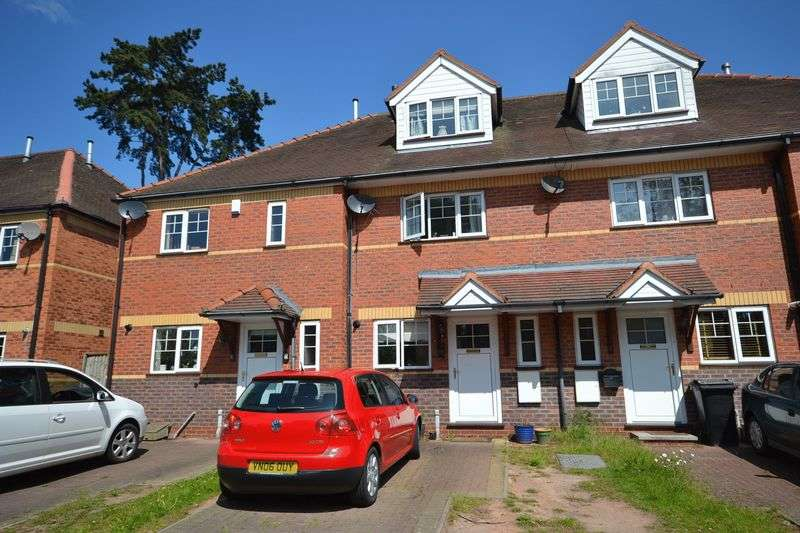 3 Bedrooms Terraced House for sale in Old Bowling Green Close, Burford