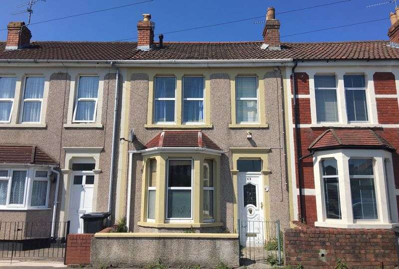 3 Bedrooms Terraced House for sale in Rodney Road, Kingswood, Bristol, BS15 1EH