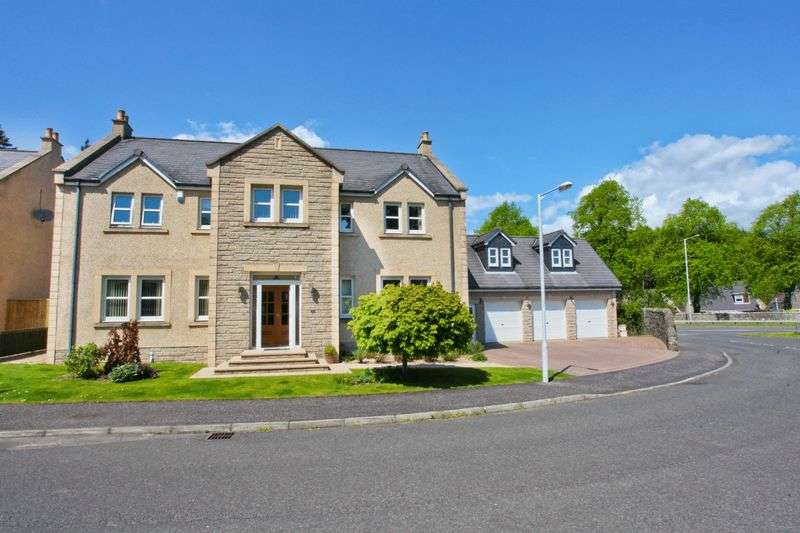 5 Bedrooms Detached House for sale in Leslie Mains, Leslie