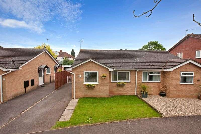 2 Bedrooms Semi Detached Bungalow for sale in DOWSLANDS