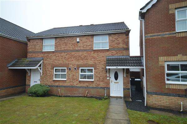 2 Bedrooms Semi Detached House for sale in Stanleyburn View, New Kyo, Stanley