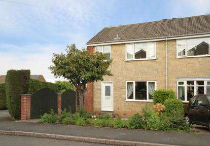 3 Bedrooms Semi Detached House for sale in Wordsworth Place, Dronfield, Derbyshire