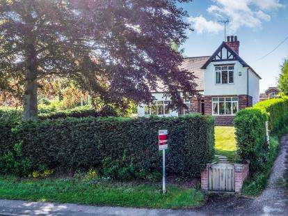 4 Bedrooms Detached House for sale in Main Road, Ravenshead, Nottingham, Nottinghamshire