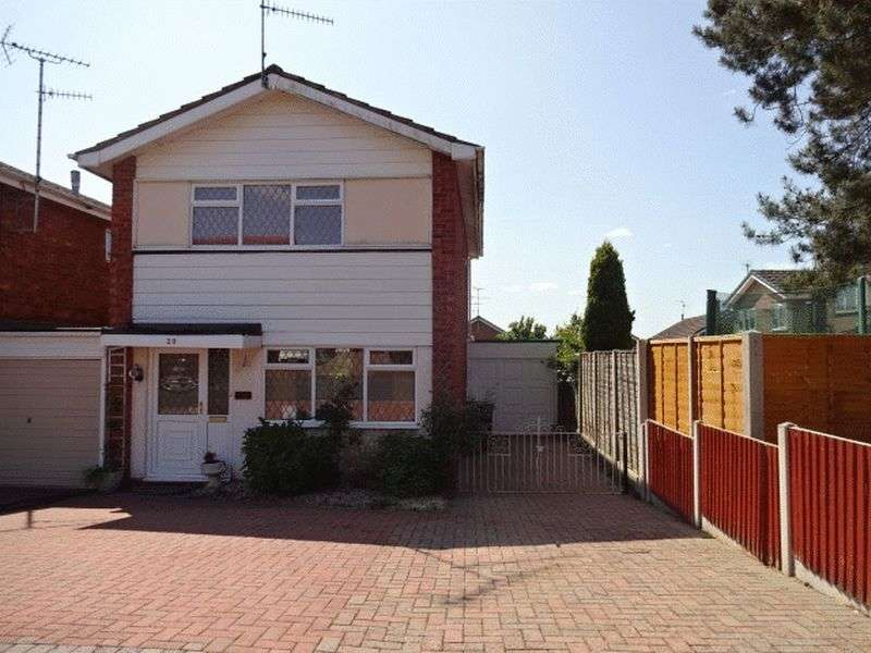 3 Bedrooms Detached House for sale in Shakespeare Drive, Kidderminster DY10 3QW