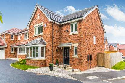 4 Bedrooms Detached House for sale in Bloomsbury Crescent, Heaton, Bolton, Greater Manchester, BL1