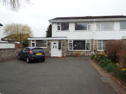 4 Bedrooms Semi Detached House for sale in The Roe, St. Asaph, Denbighshire, LL17