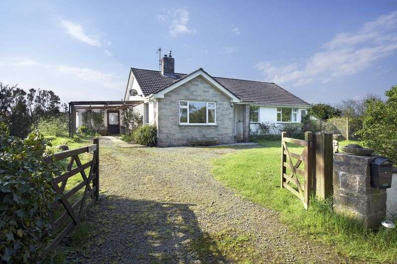 4 Bedrooms Detached House for sale in Week St. Mary, Holsworthy