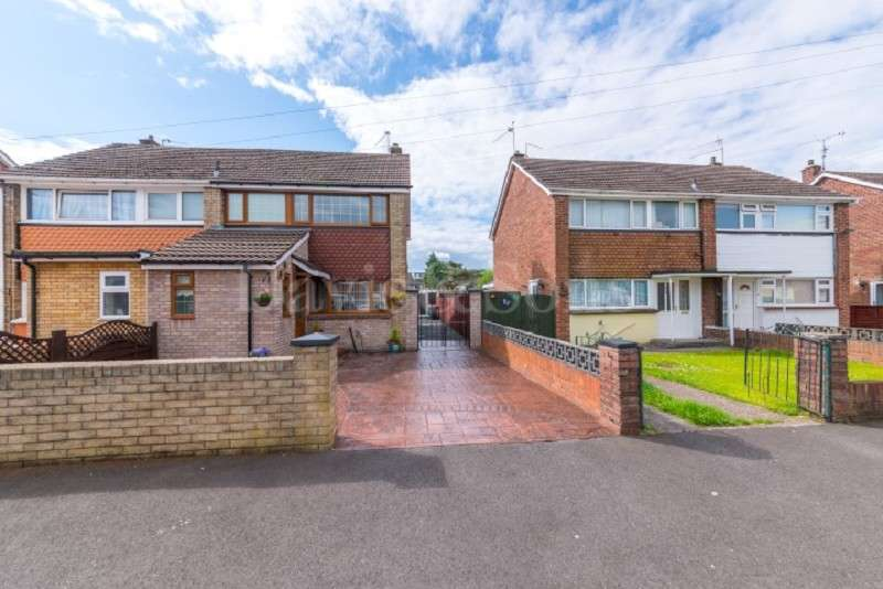 3 Bedrooms Semi Detached House for sale in Hillview Crescent, Lliswerry, Newport. NP19 4NS