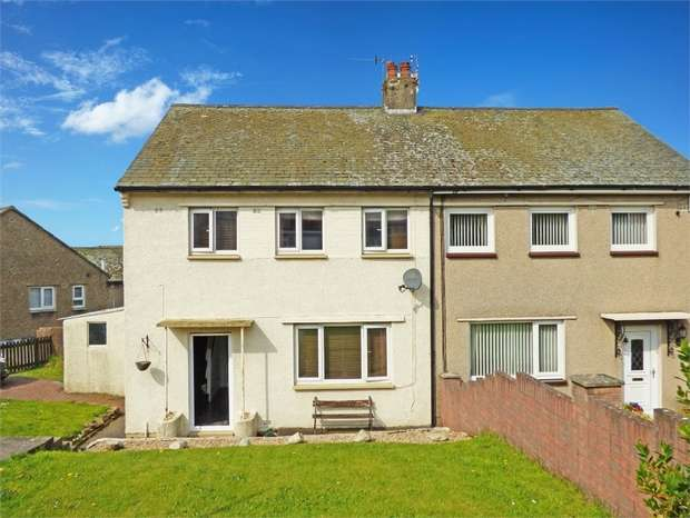 3 Bedrooms Semi Detached House for sale in Meadow Road, Whitehaven, Cumbria