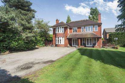 4 Bedrooms Detached House for sale in Shaw Street, Culcheth, Warrington, Cheshire