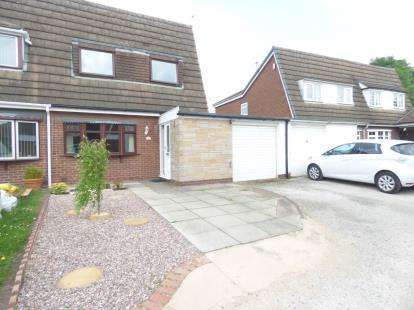 3 Bedrooms Semi Detached House for sale in Sheerwater Close, Padgate, Warrington, Cheshire, WA1