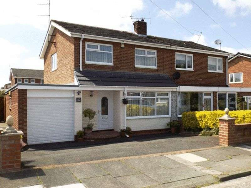 3 Bedrooms House for sale in Eden Grove, Morpeth - Three Bedroom Semi Detached House