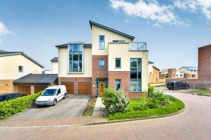 5 Bedrooms Detached House for sale in Shelsley Avenue, Ashland, Milton Keynes, Buckinghamshire