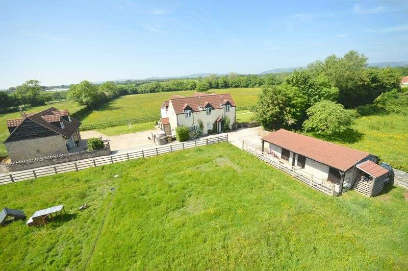 4 Bedrooms Detached House for sale in Middle Stoughton, Wedmore, Somerset, BS28 4PT