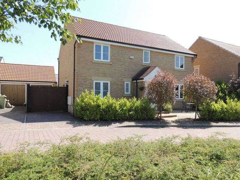 4 Bedrooms Detached House for sale in Grant Gardens, Oxley Park, Milton Keynes