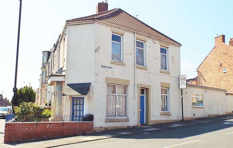 2 Bedrooms House for sale in Vicarage Street, North Shields