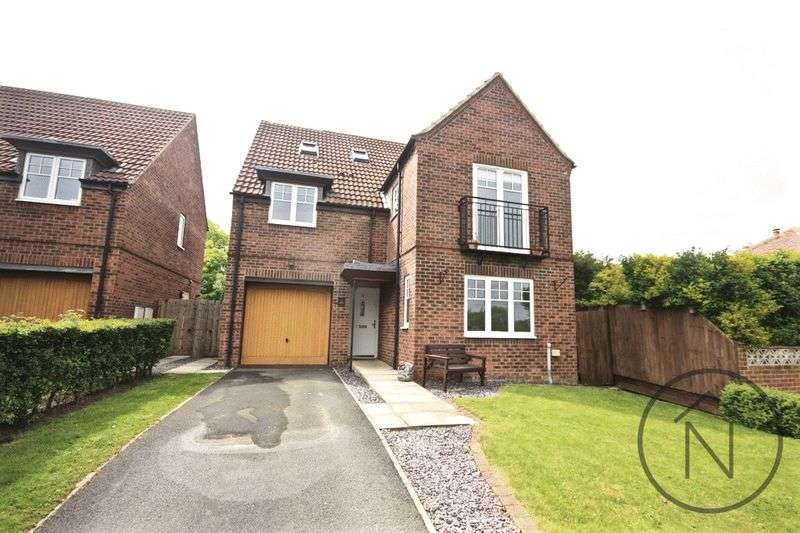 5 Bedrooms Detached House for sale in Aycliffe Gates, Newton Aycliffe