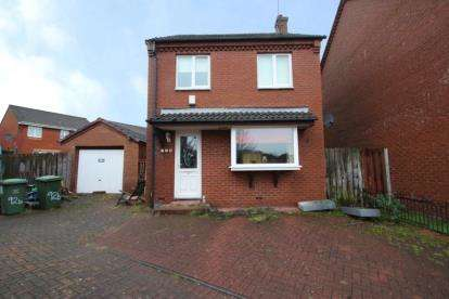 3 Bedrooms Detached House for sale in Bracadale Road, Baillieston, Glasgow, Lanarkshire