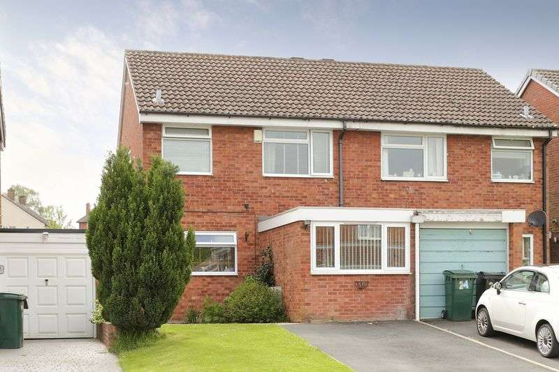 3 Bedrooms Semi Detached House for sale in Cherrybrook Drive, Broseley