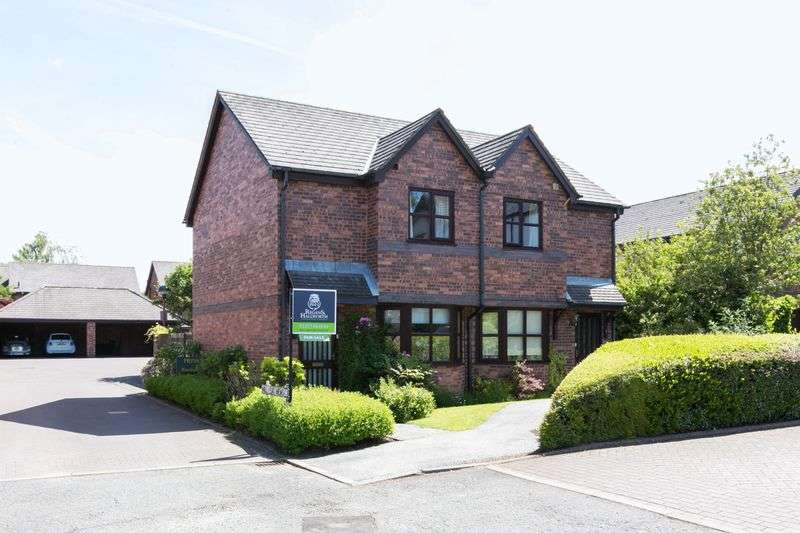 2 Bedrooms Semi Detached House for sale in Mill Leat Close, Parbold, WN8 7NJ
